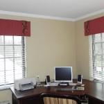 Aranżacja okna w biurze